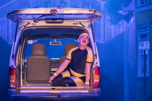 Gerard Carey as Malvolio in the Young Vic's new production of Twelfth Night.