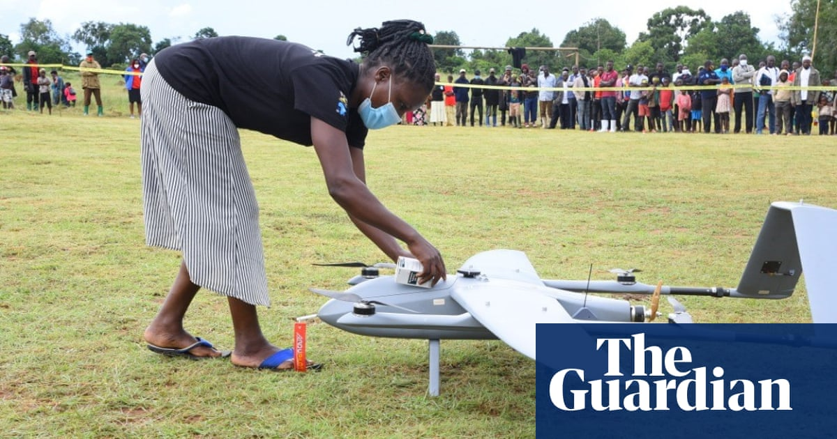 'Gamechanger': Uganda launches drone delivering HIV drugs to remote islands
