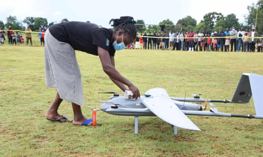 drone medical project to deliver ARVs