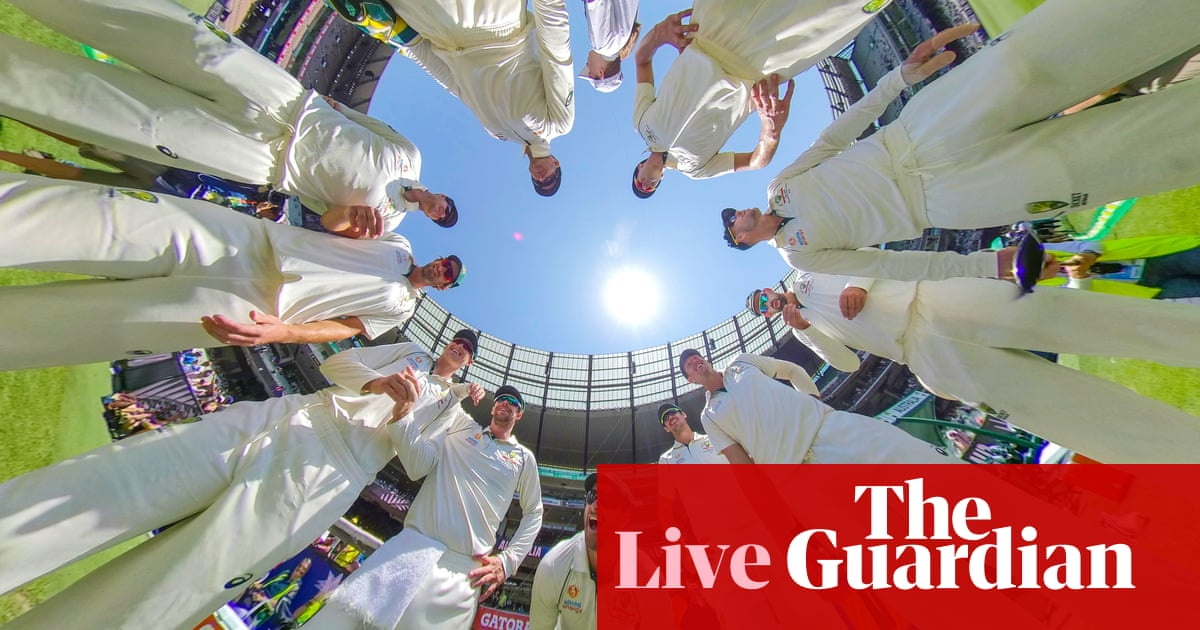 Australia v New Zealand: third Test, day one – live!
