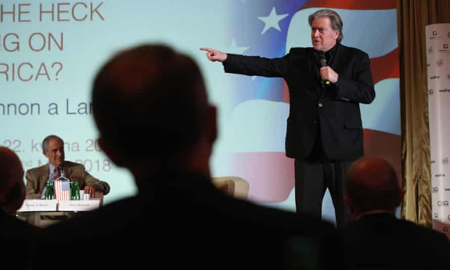 Steve Bannon is much admired by Michael Pack .