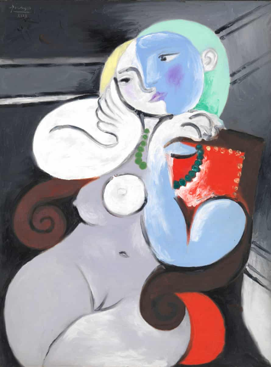 Pablo Picasso's Nude Woman in a Red Armchair