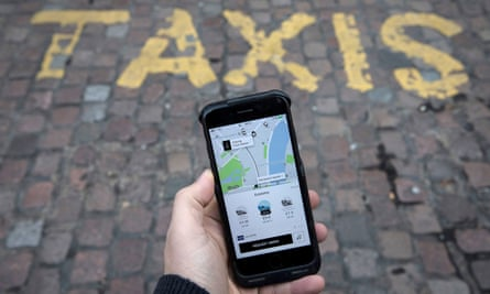 Car trouble: Uber is currently valued at £61bn but loses money at 'an eye-watering rate'