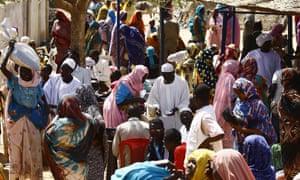Internally displaced people in Darfur