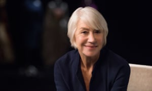 Helen Mirren shared acting tips over four days of filming.