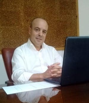 Tunisian hotel manager Hichem Hedda