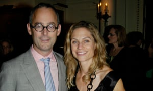 The 'dandy-ish' Amor Towles and wife, Maggie, at a party in New York
