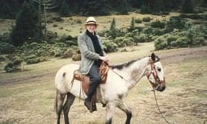 Eric Hobsbawm travelling in Peru in 1971.