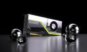 Nvidia Quadro workstation graphics card