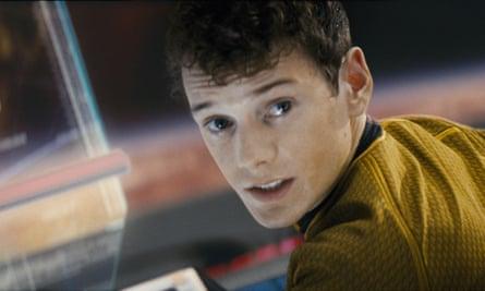 Anton Yelchin as Pavel Chekov in the 2009 film of Star Trek.