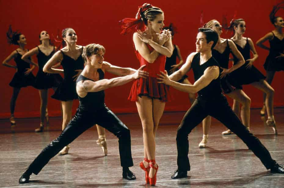 Ethan Stiefel, Amanda Schull and Sascha Radetsky in Center Stage.