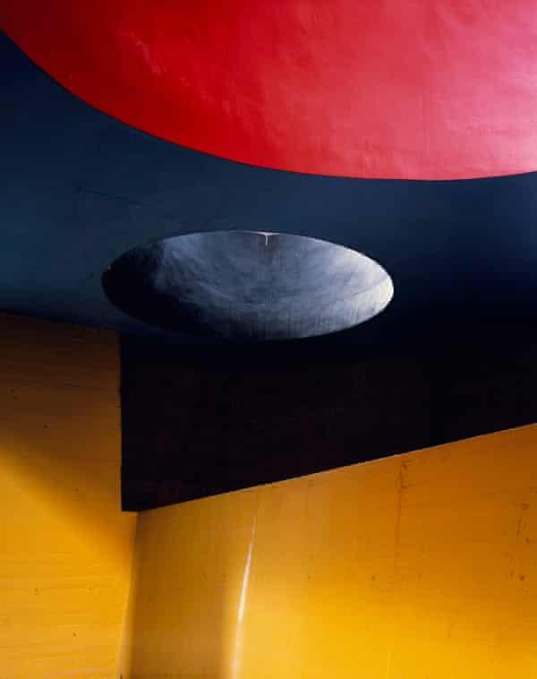 Le Corbusier's Canons de Lumière, Couvent Sainte-Marie de la Tourette, Eveux, France, 2007.