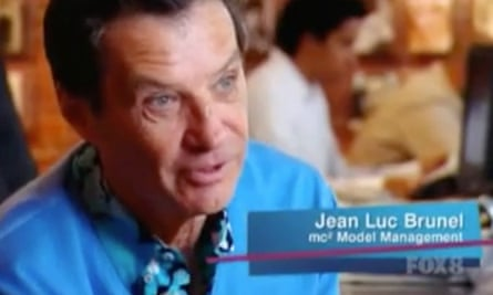 Jean-Luc Brunel, seen here in Australia's Next Top Model, in 2008.