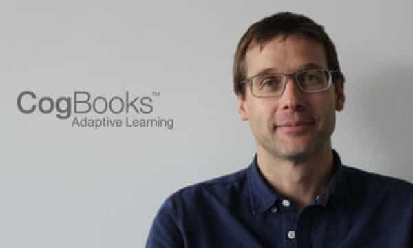 Jim Thompson is the CEO of CogBooks