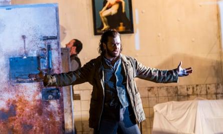 Tim Mead as Bertarido.