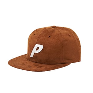 Rust colour cap from palace skateboards