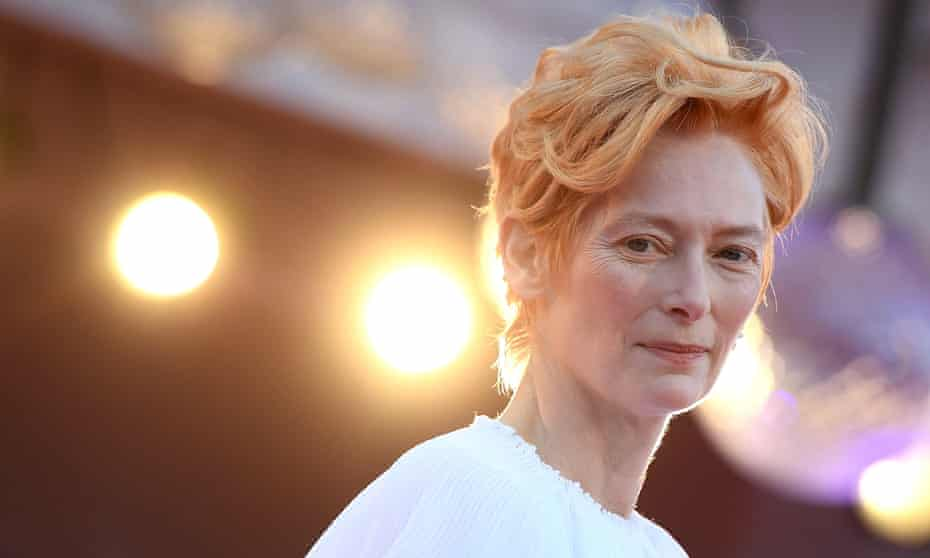 British actor Tilda Swinton would make an absolutely perfect Doctor.