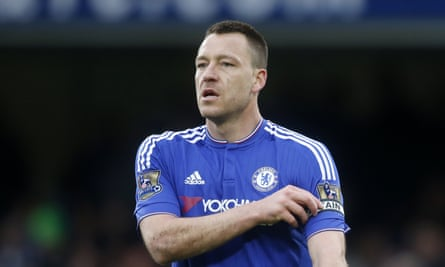 John Terry is anxious to play his part in Chelsea's run-in but could be absent until May with an achilles problem.