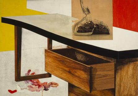 Desk by Richard Hamilton (1964)