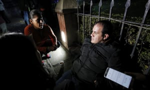 Cuernavaca's Mayor Cuauhtemoc Blanco starts a hunger strike to protest his impeachment.