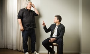 Paul Greengrass and Matt Damon photographed in London last week by Pal Hansen for the Observer New Review.