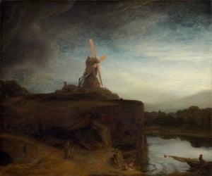 Rembrandt van Rijn (1606-69) The Mill,