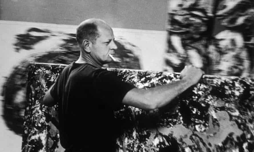 Jackson Pollock in 1953