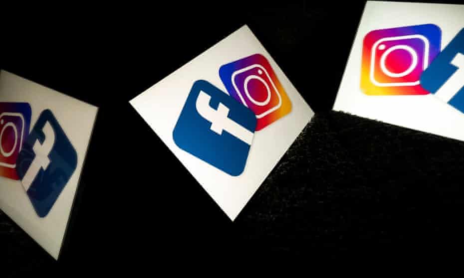 facebook and instagram logos