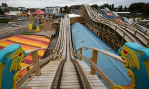 The view from Dreamland Margate's scenic railway.