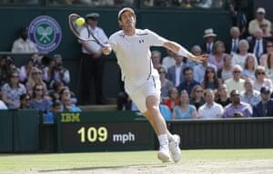 Murray returns.