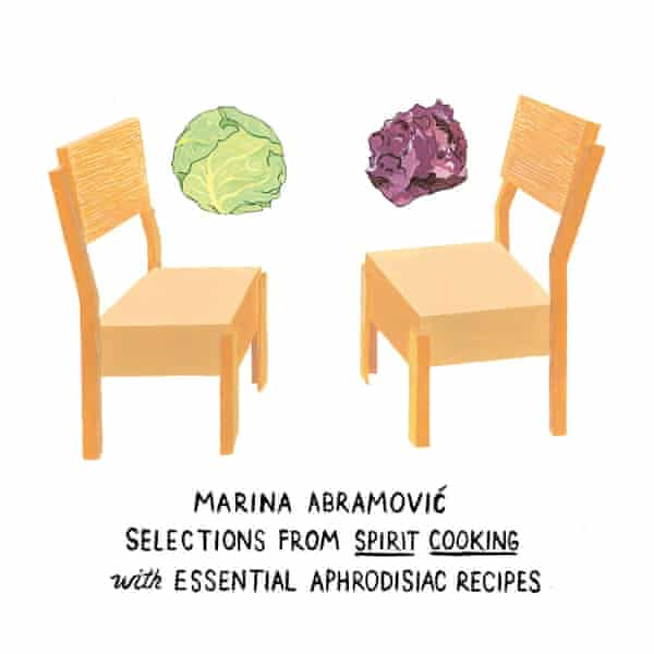 An illustration by Amy Jean Porter for the Artists' and Writers' Cookbook.