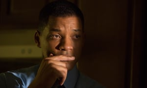 Will Smith in a scene from Concussion