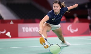 Megan Hollander of the Netherlands competes against Beatriz Monteiro of Portugal.