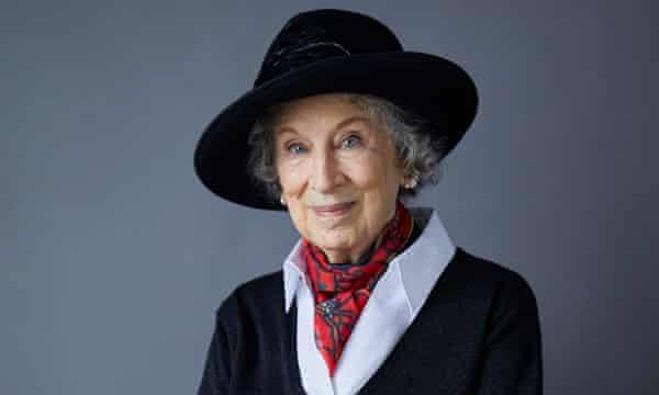 Margaret Atwood, filmada en Toronto por la revista The Guardian Weekend