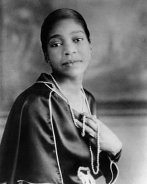 Bessie Smith in the 1920s.