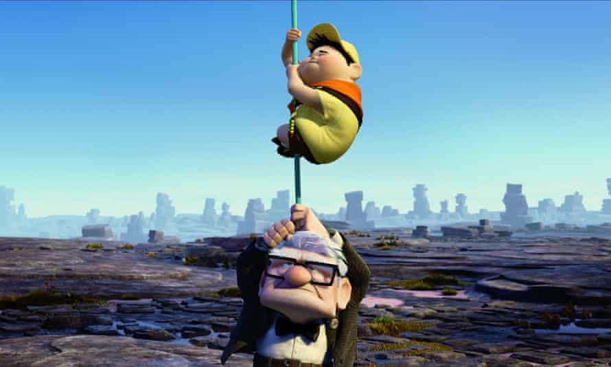 Russell and Carl Fredricksen in 2009's Up.