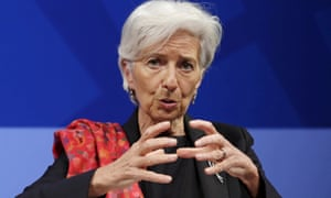 Christine Lagarde, head of the International Monetary Fund
