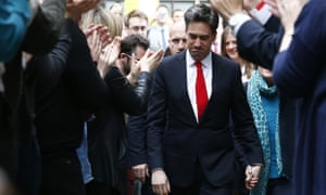 Ed Miliband the day after the 2015 general election.