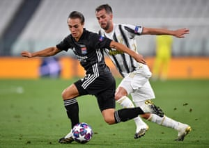 Maxence Caqueret was superb for Lyon against Juventus in Turin.