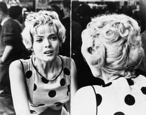 Corinne Marchand in Agnès Varda's 1962 film Cleo from 5 to 7.