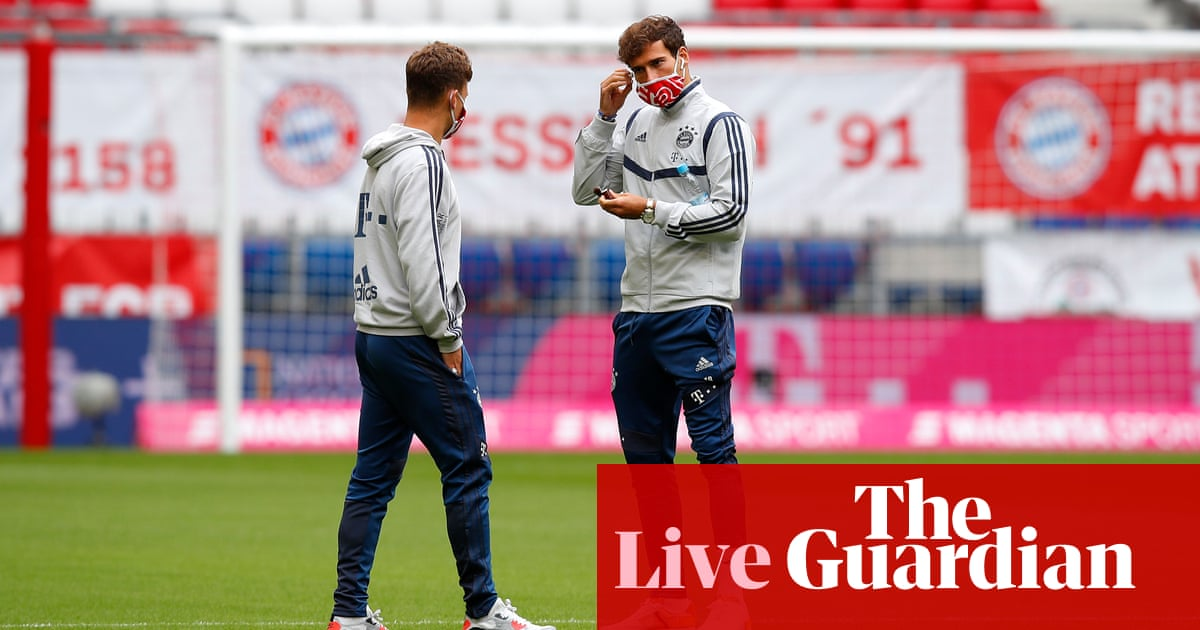 Bayern Munich v Fortuna Düsseldorf: Bundesliga – live! - the guardian