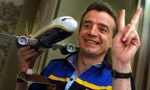 Ryanair boss Michael O'Leary in 2003.