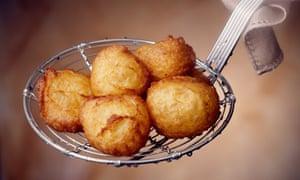 Dauphine potatoes.