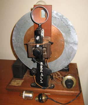 See-All scanning disc kit from 1931.