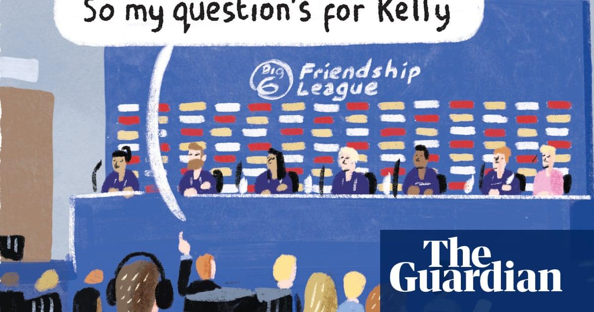 Stephen Collins on the European Super League – cartoon