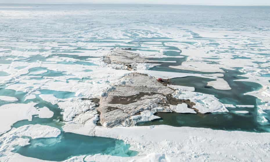 The tiny island off the coast of Greenland is the world's northernmost point of land, according to the scientific expedition that discovered it.