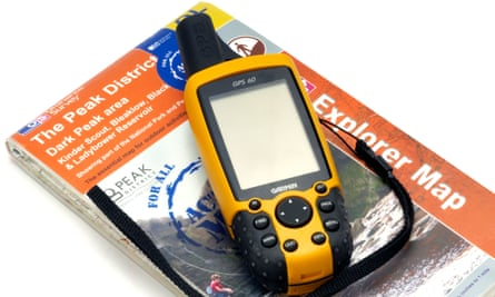 Map and gps unit