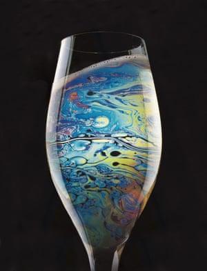 Glass of Petrol (2015) by Agnieszka Polska