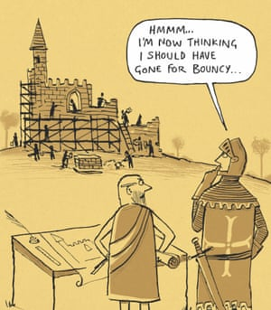 Berger & Wyse on castles – cartoon