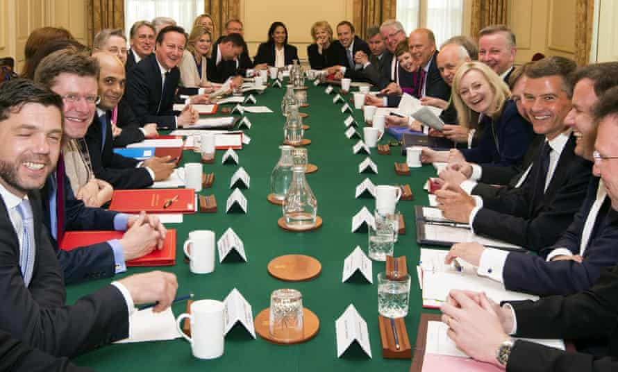First cabinet meeting